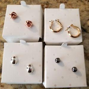 Hypoallergenic Earrings (4 pair)